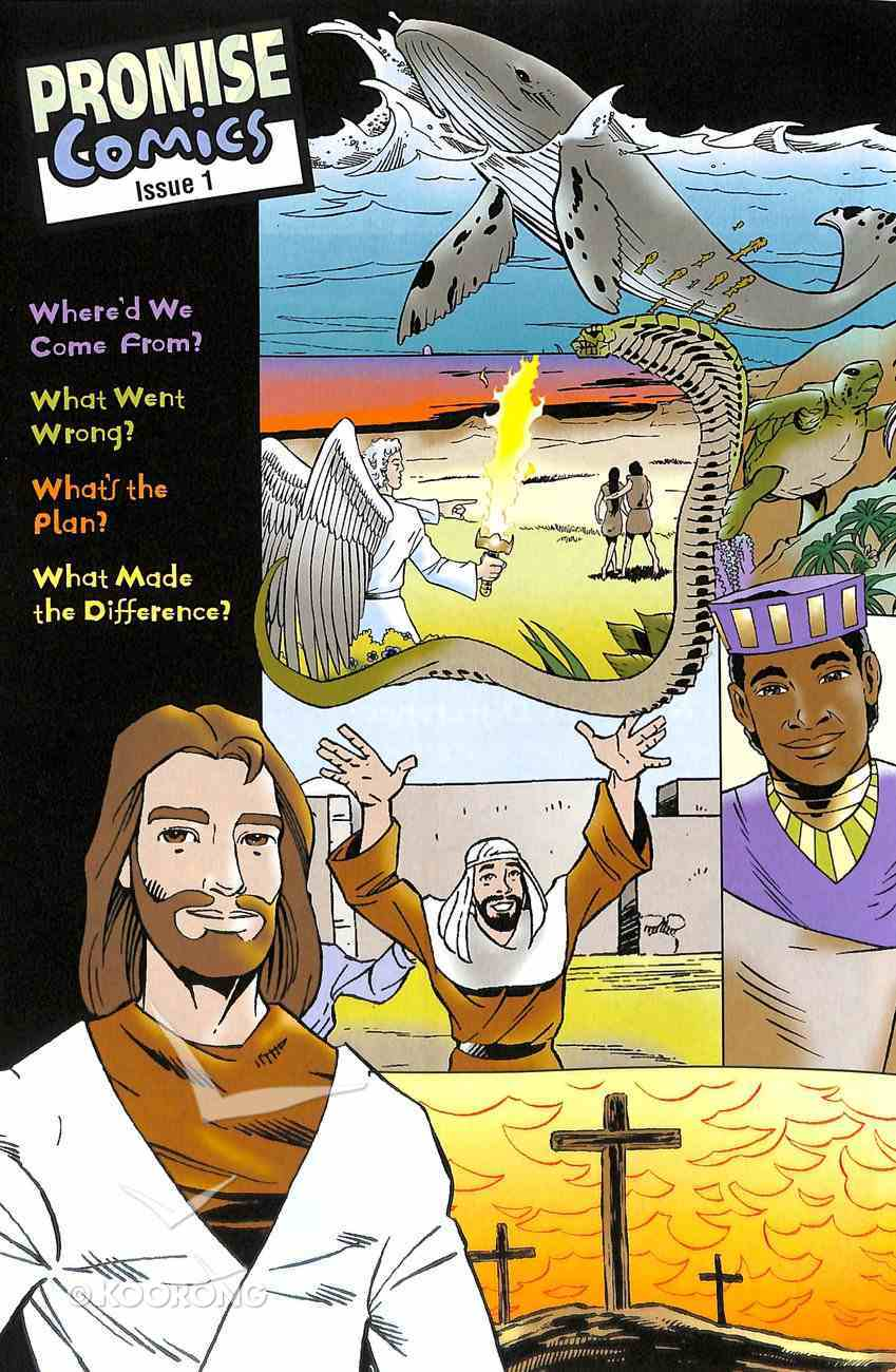 God Made the World, God Promises a Savior, Jesus the Promised Savior, Jesus Meets Zacchaeus, a Man Hears About Jesus (#1 in Promise Comics Series) Paperback