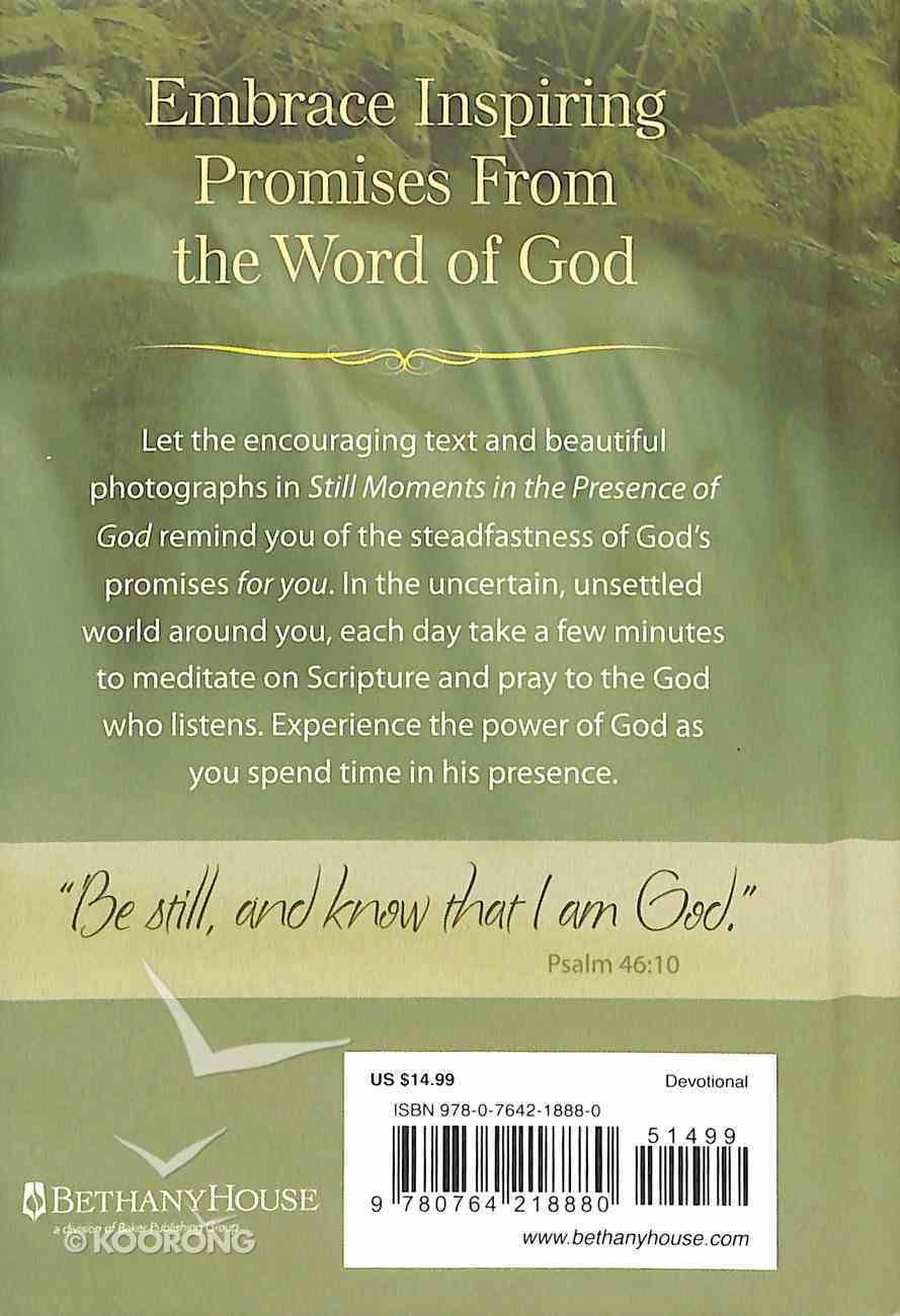 Still Moments in the Presence of God: Reflections on His Promises to You Hardback