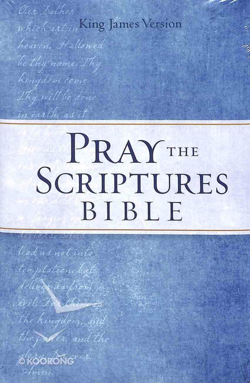KJV Pray the Scriptures Bible (Red Letter Edition) Hardback