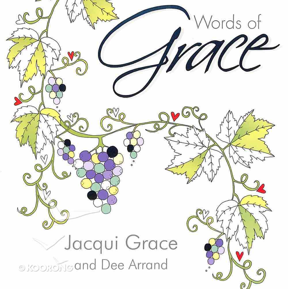Words of Grace (Adult Coloring Books Series) Paperback