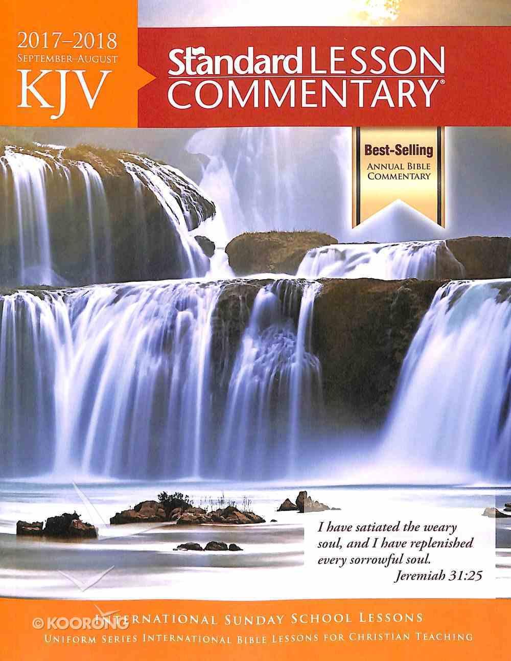 KJV Standard Lesson Commentary 2017-2018 Paperback