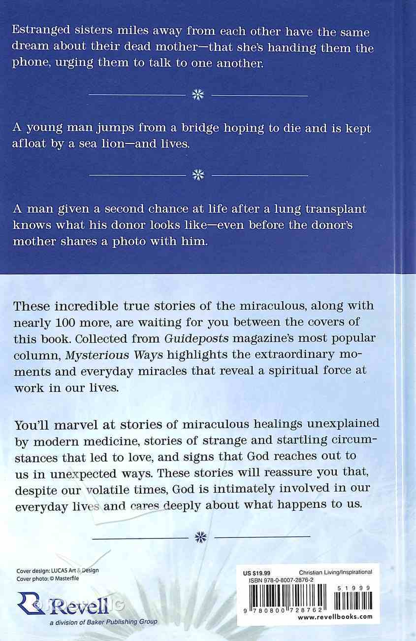 Mysterious Ways: True Stories of the Miraculous Hardback
