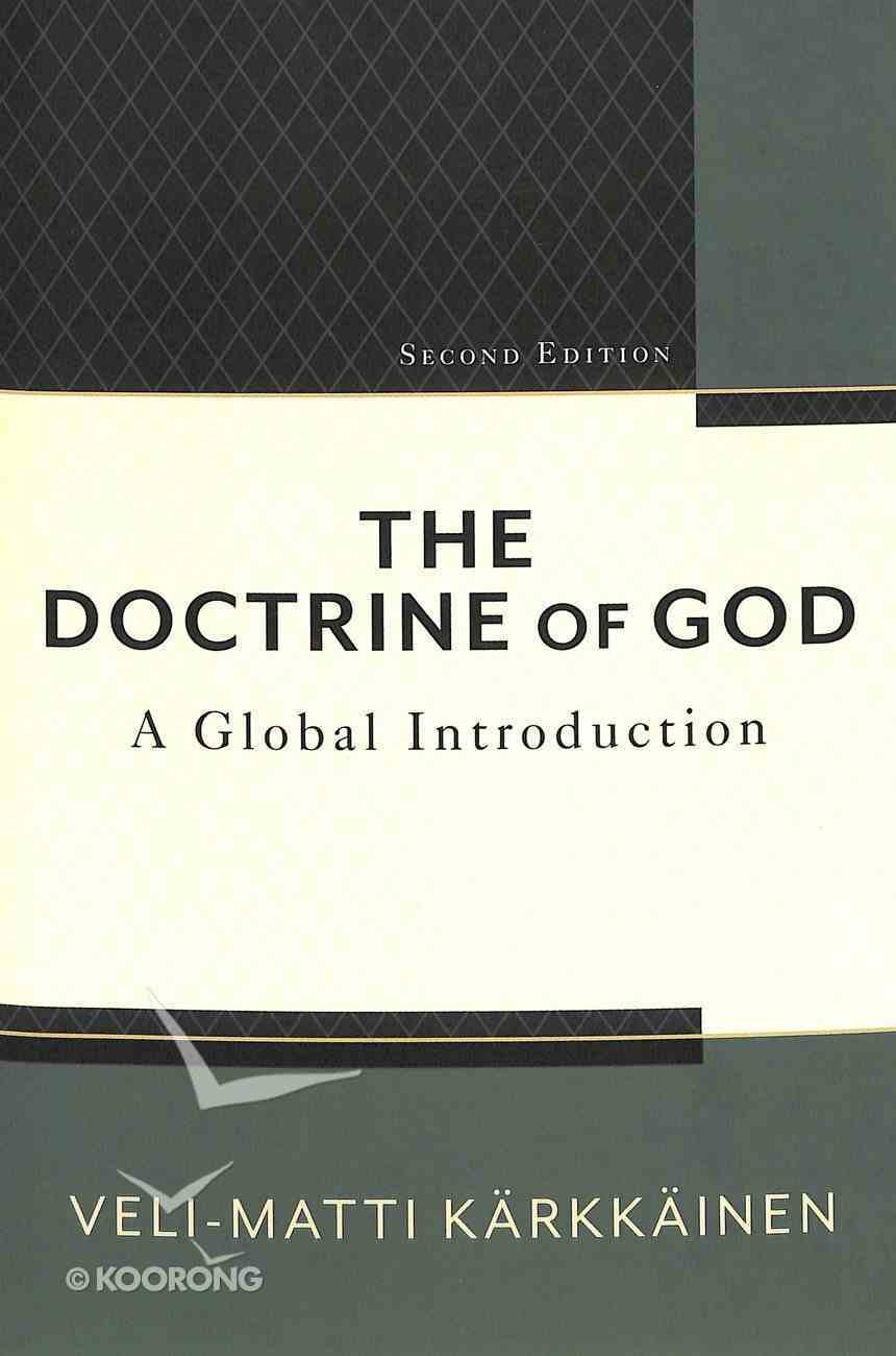 The Doctrine of God: A Global Introduction (2nd Edition) Paperback
