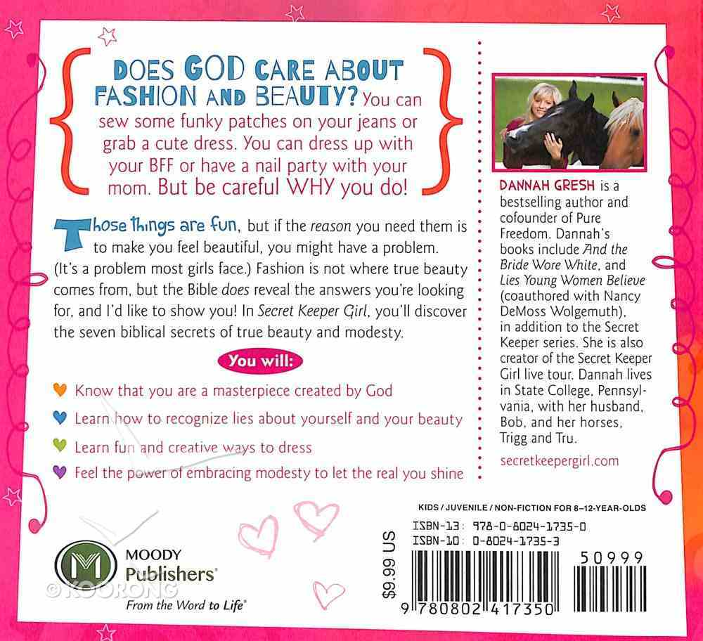 The Power of Modesty For Tweens (Secret Keeper Girl Series) Paperback