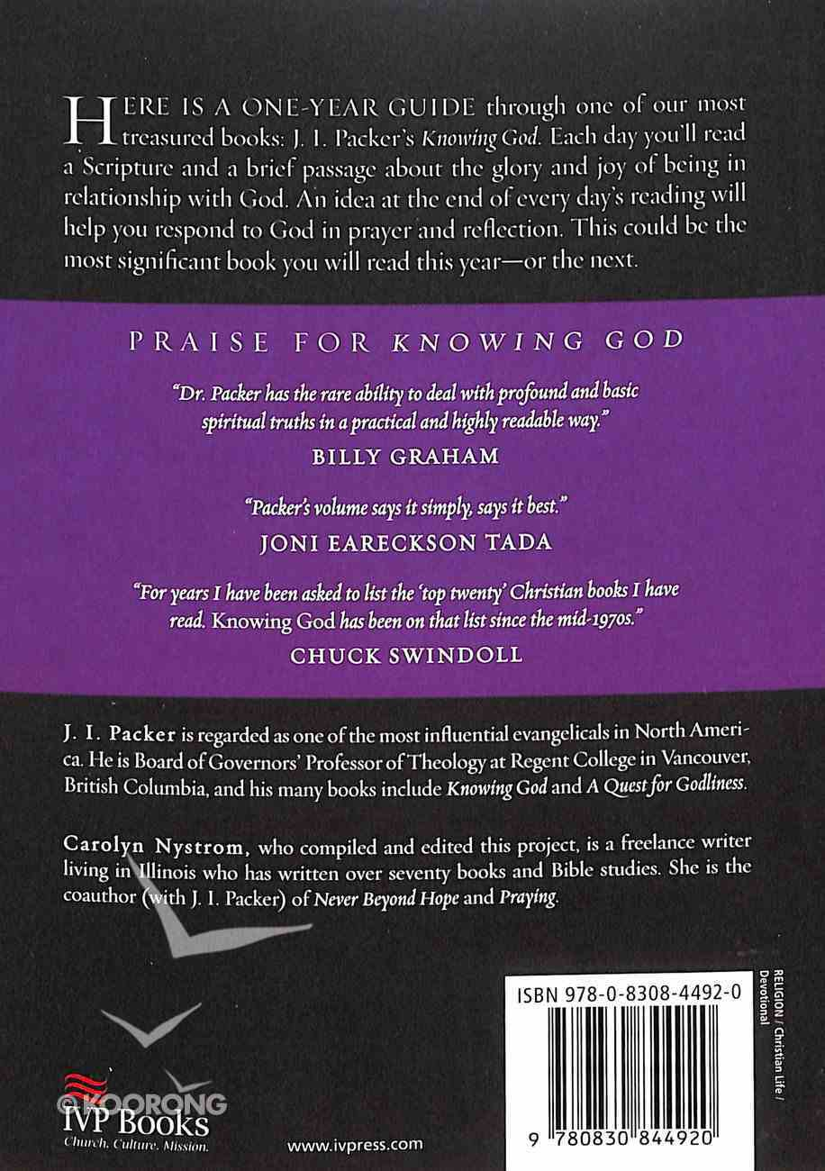 Knowing God Through the Year (Through The Year Devotionals Series) Paperback