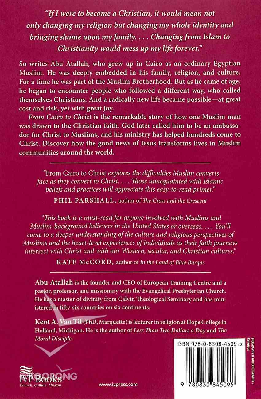 From Cairo to Christ Paperback