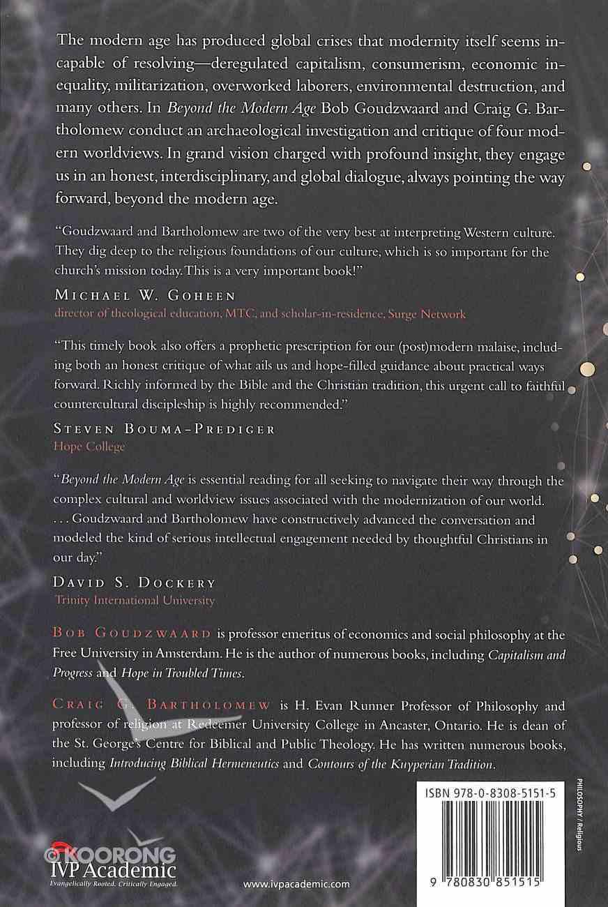 Beyond the Modern Age Paperback