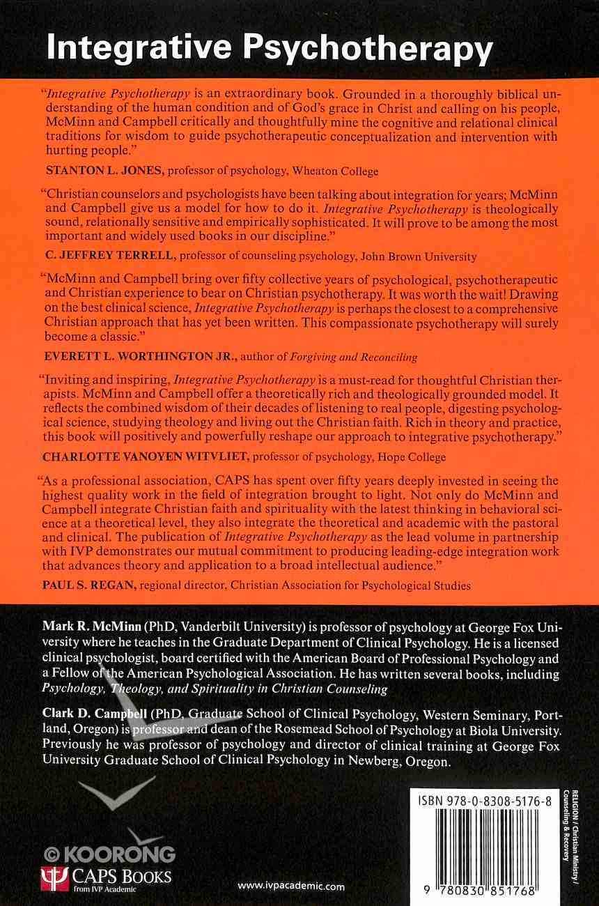 Integrative Psychotherapy Paperback