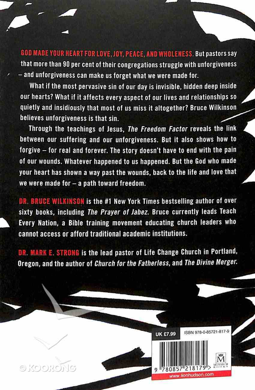 The Freedom Factor Paperback