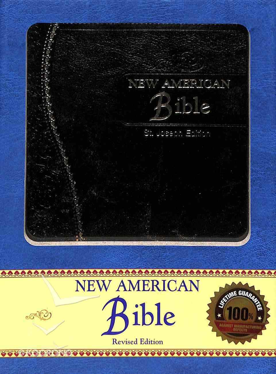 Nab St Joseph Gift Edition Black Medium Size Imitation Leather