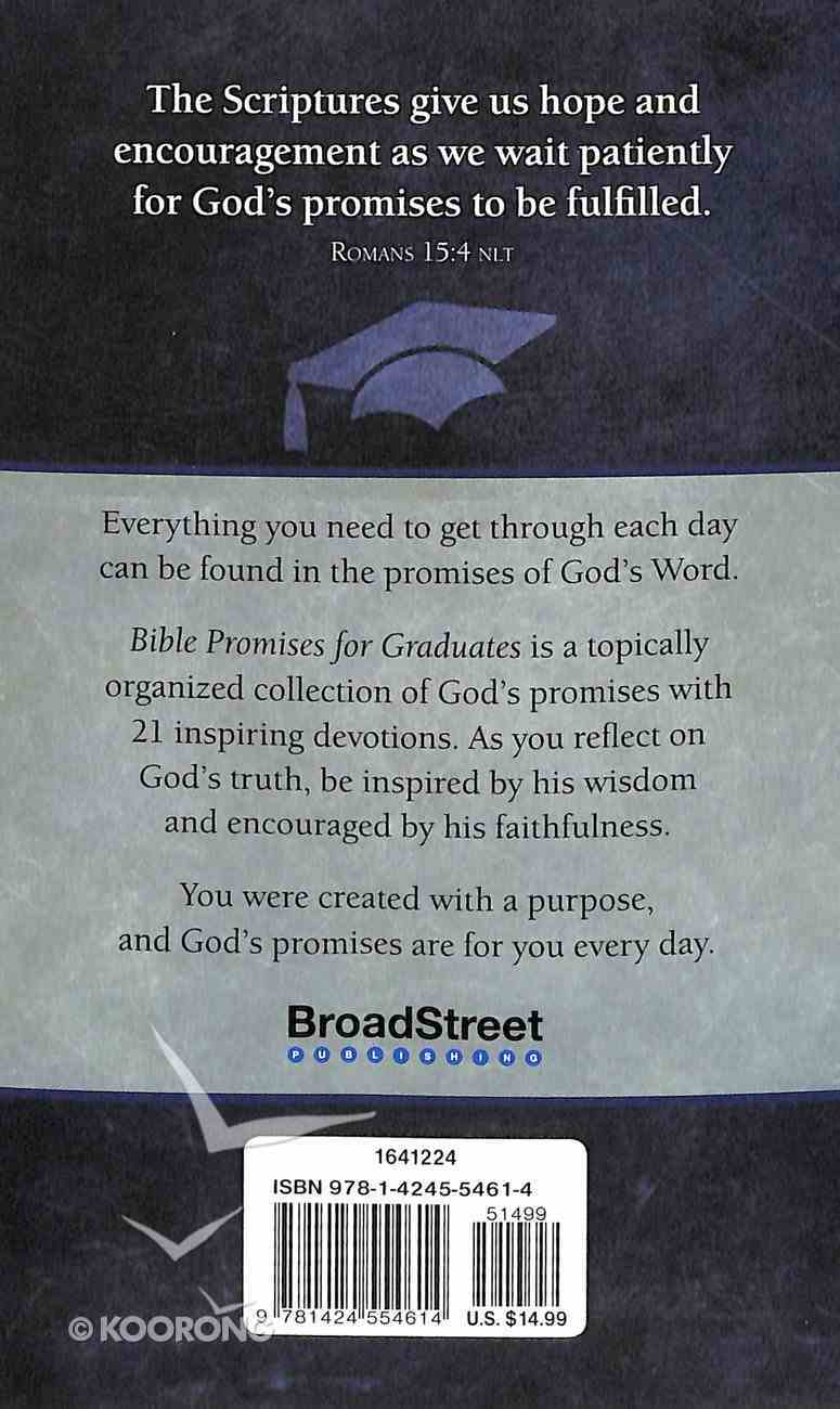 Bible Promises For Graduates (Gray) Imitation Leather