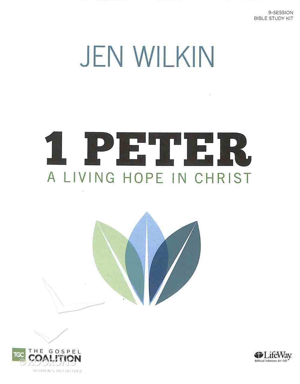 1 Peter: A Living Hope in Christ (Leader Kit: 1x Bible Study Book, Leader Guide, 2x Dvd's With 8x 30-min Teaching Sessions, Promotional Video) Pack