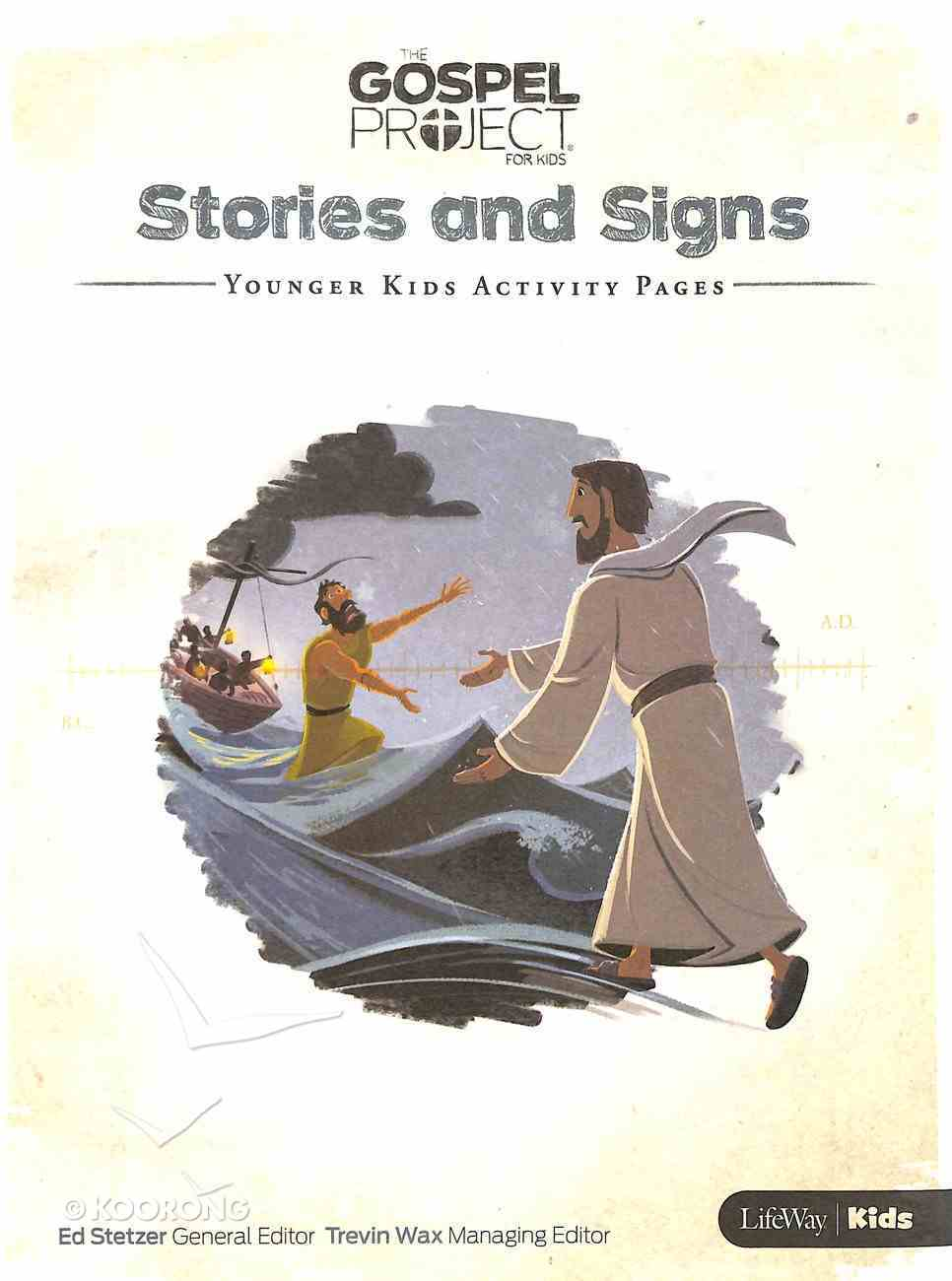 Stories and Signs (Younger Kids Activity Pages) (#08 in The Gospel Project For Kids Series) Paperback