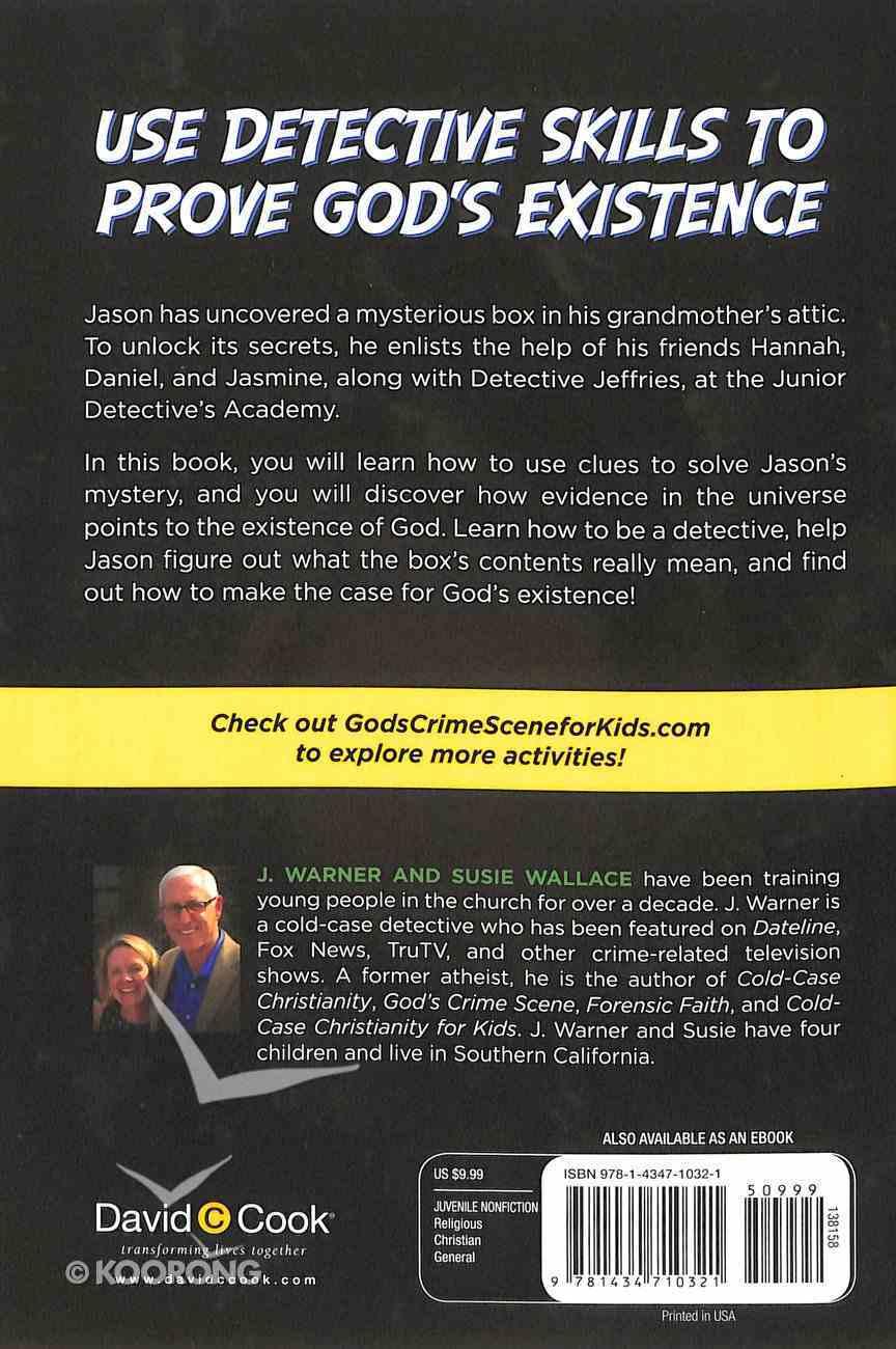 God's Crime Scene For Kids Paperback