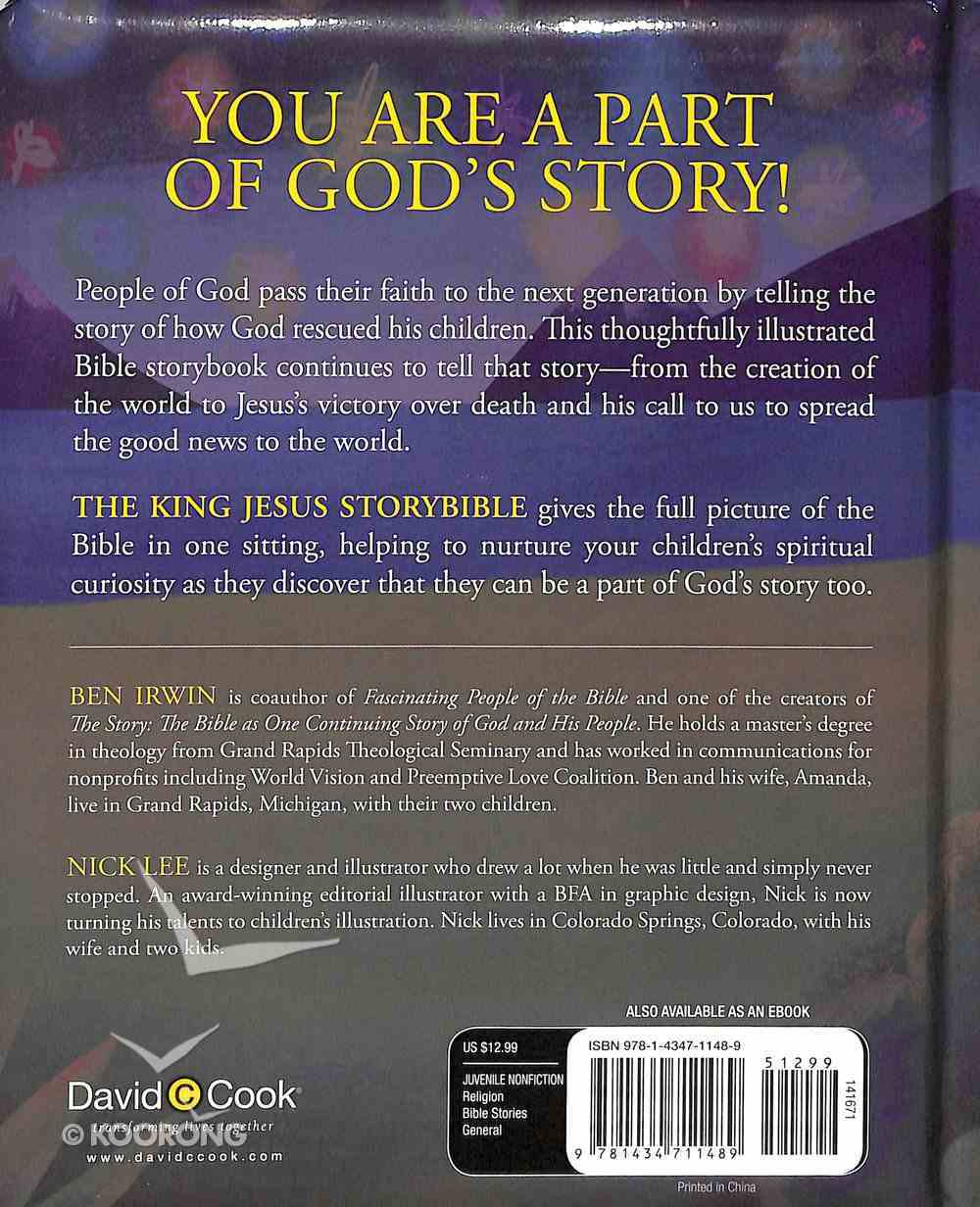 The King Jesus Storybible Hardback