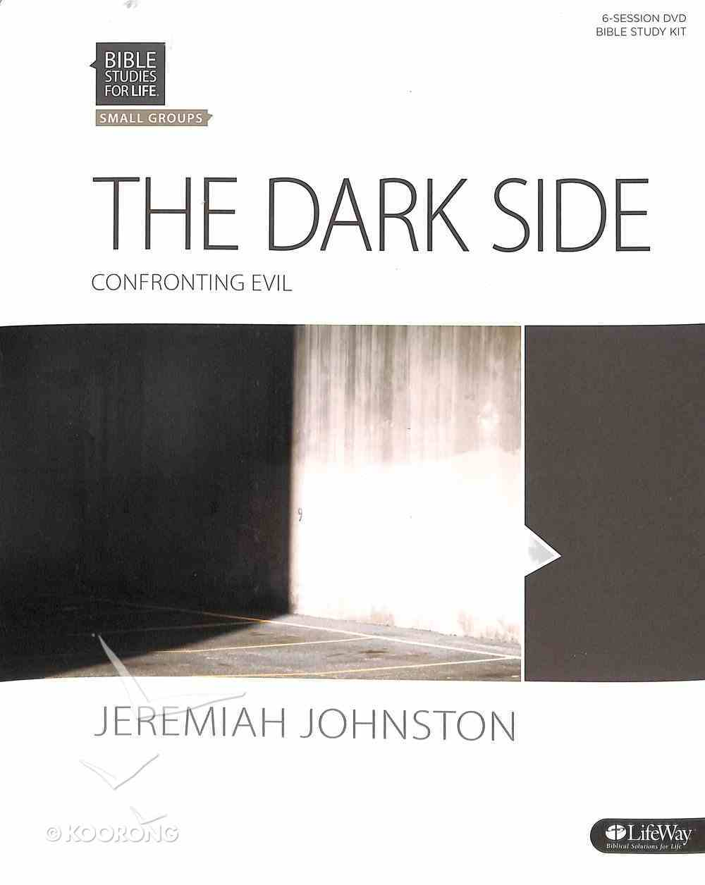 Dark Side, the Confronting Evil - Includes Bible Study Book, DVD, Power Point Slides, Leader Guide Etc. (Leader Kit) (Bible Studies For Life Series) Pack
