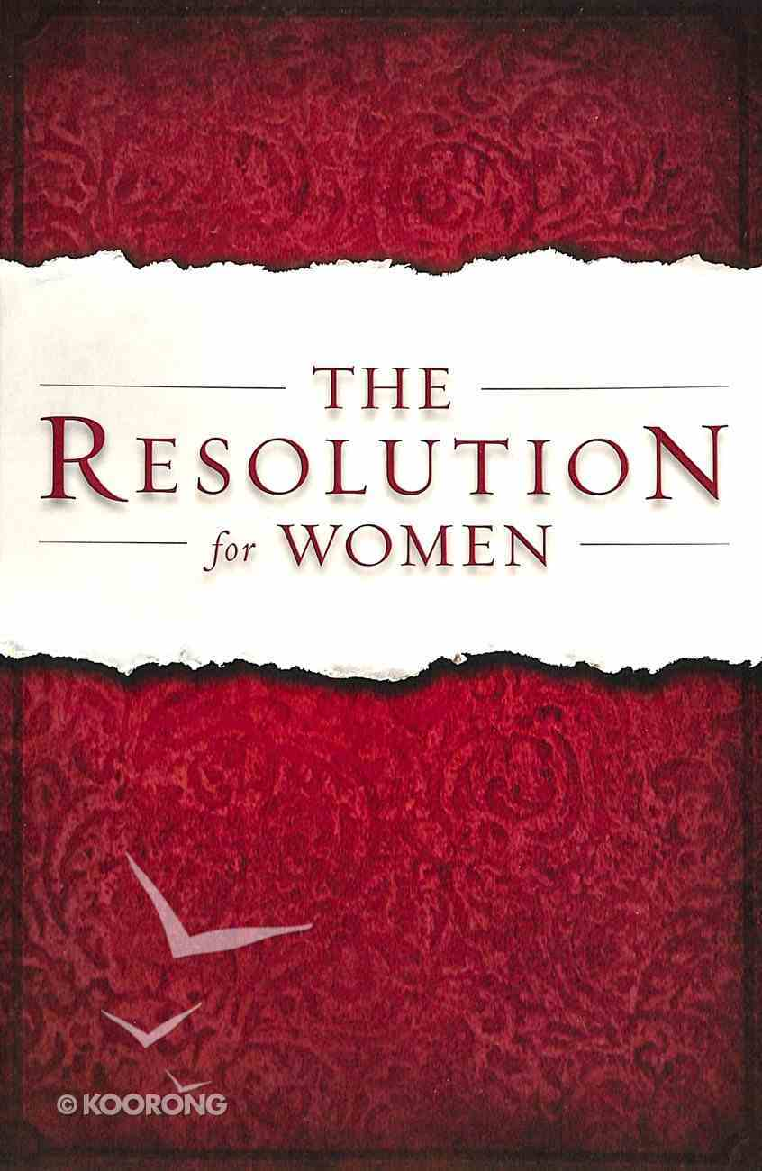 The Resolution For Women Paperback