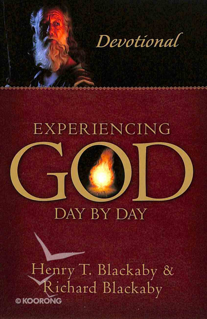 Experiencing God Day By Day: Devotional Paperback