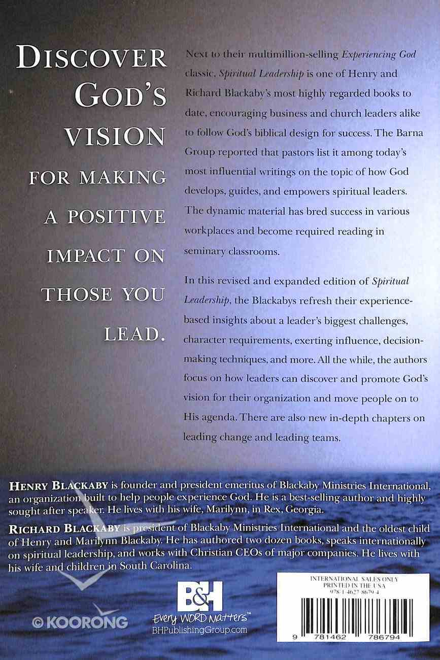 Spiritual Leadership: Moving People on to God's Agenda (& Expanded) Paperback