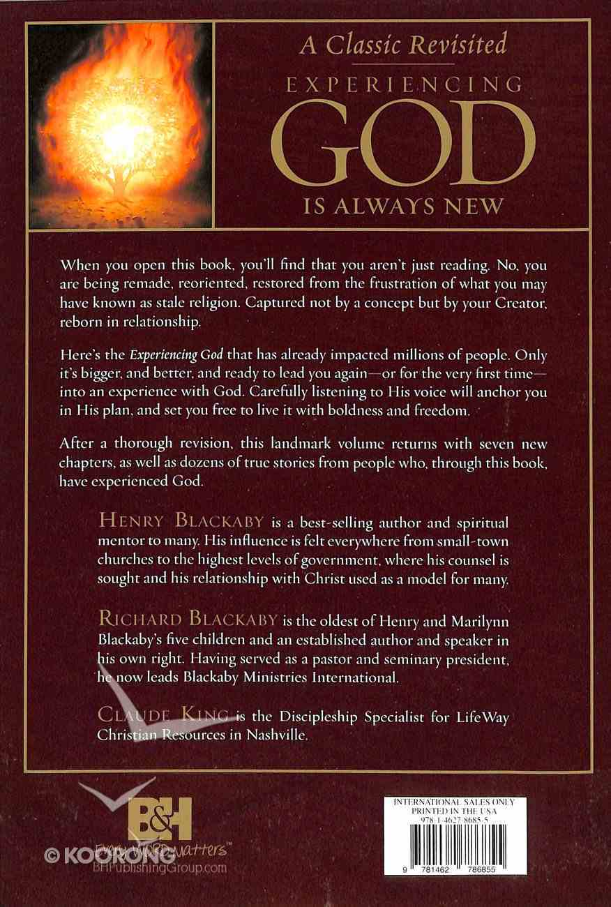 Experiencing God: Knowing and Doing the Will of God Paperback
