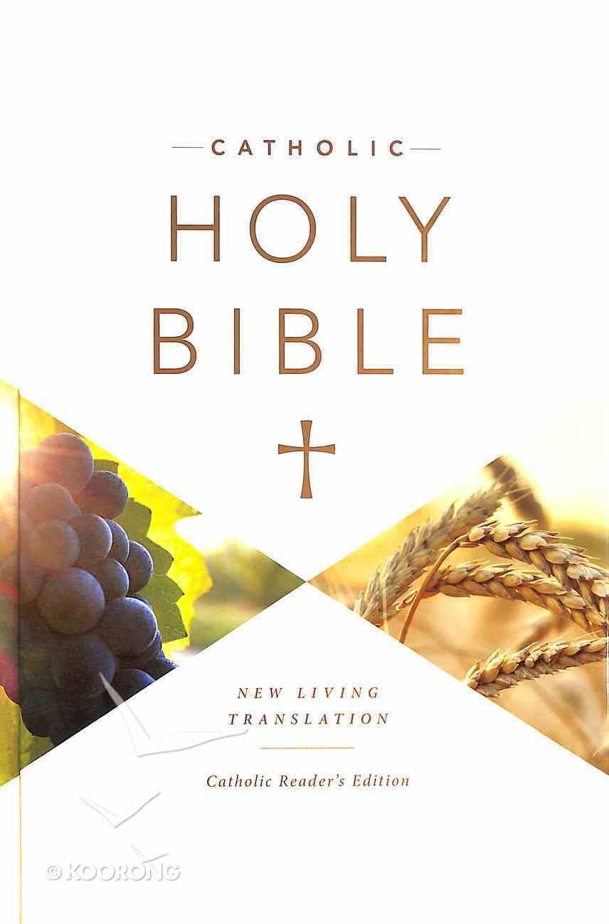 NLT Catholic Holy Bible Reader's Edition (Black Letter Edition) Hardback