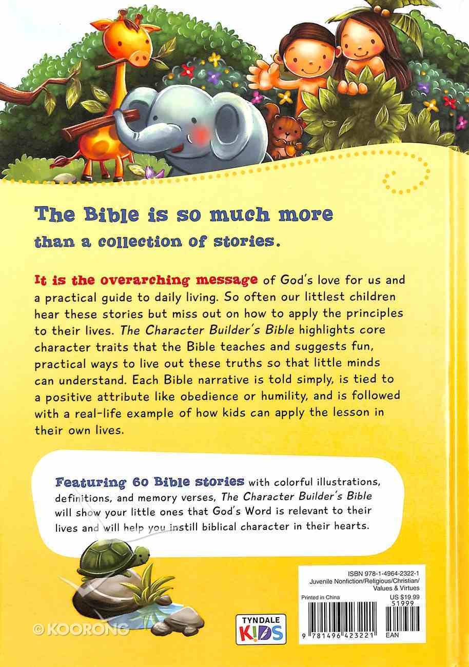 The Character Builder's Bible Hardback