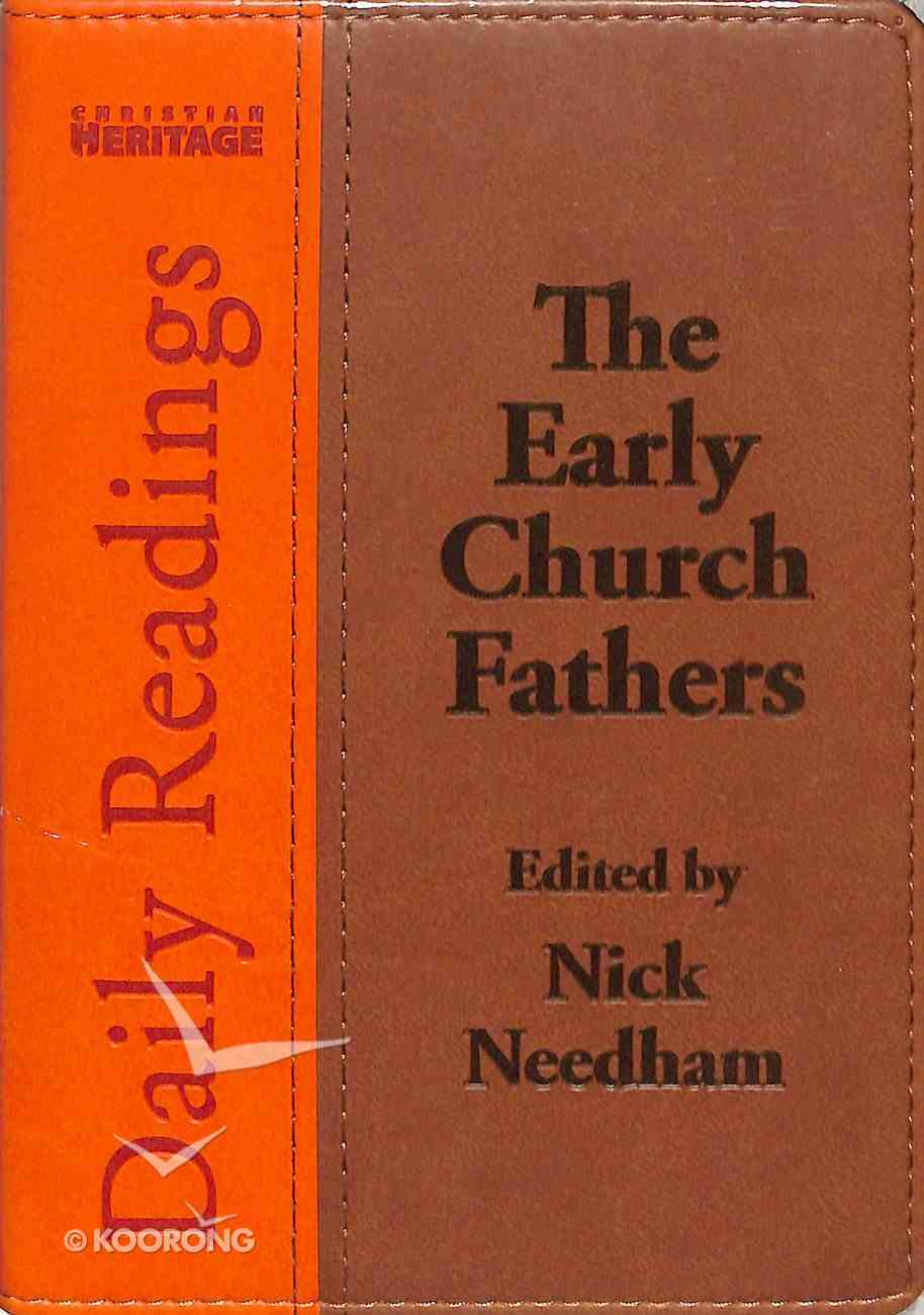 Daily Readings-The Early Church Fathers Imitation Leather