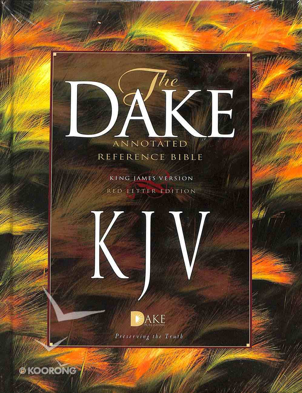 KJV Dake's Annotated 3 Column Reference Bible Hardback