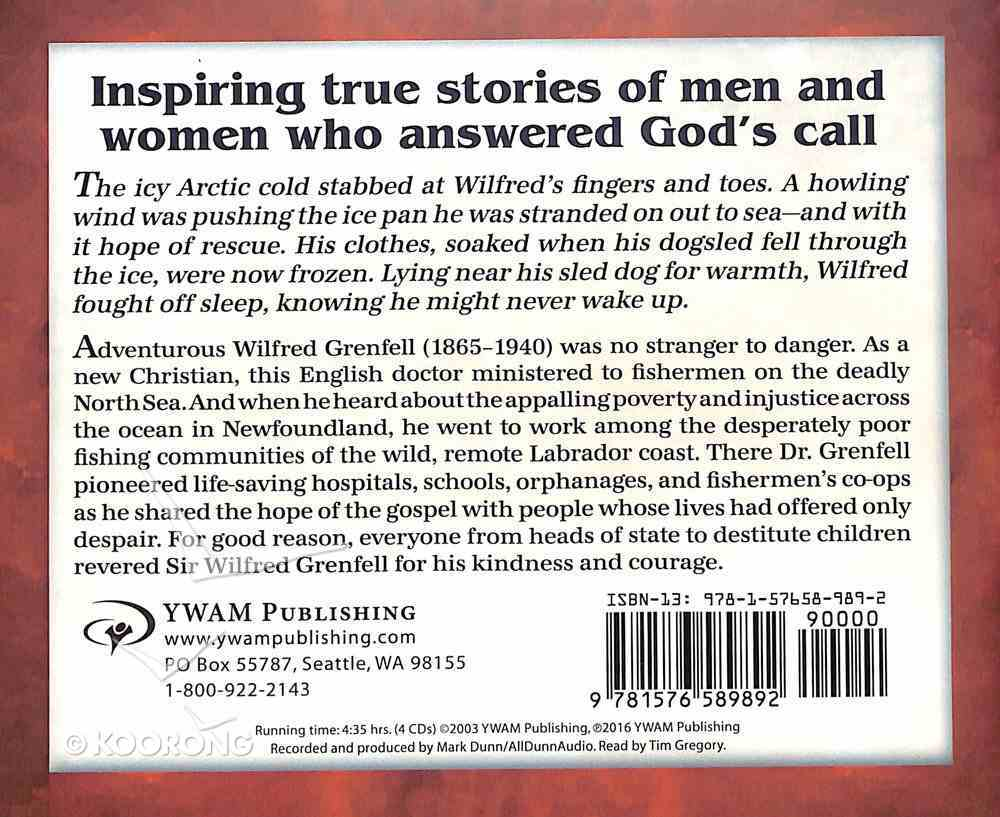 Wilfred Grenfell - Fisher of Men (Unabridged, 5 CDS) (Christian Heroes Then & Now Audio Series) CD
