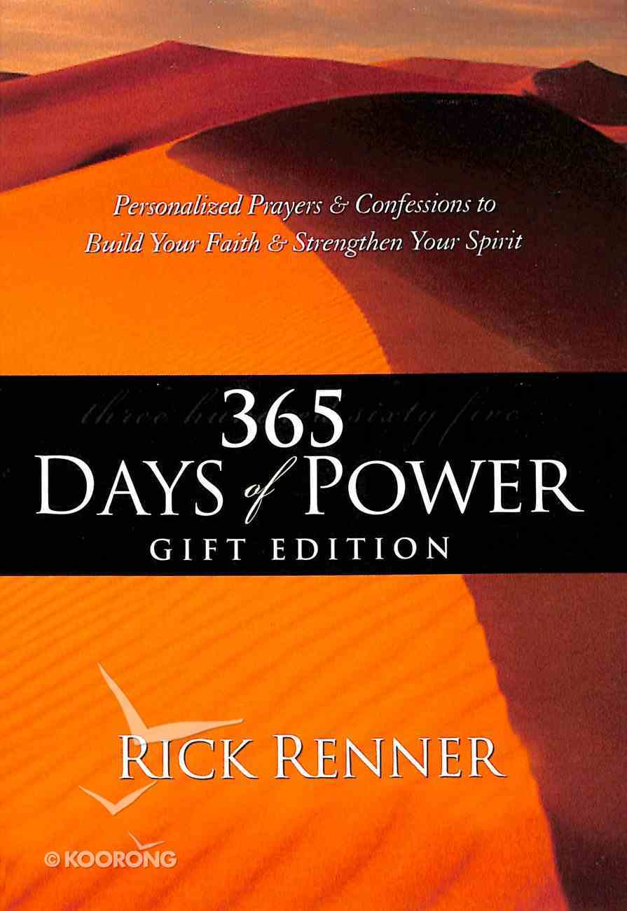 365 Days of Power Gift Edition Genuine Leather