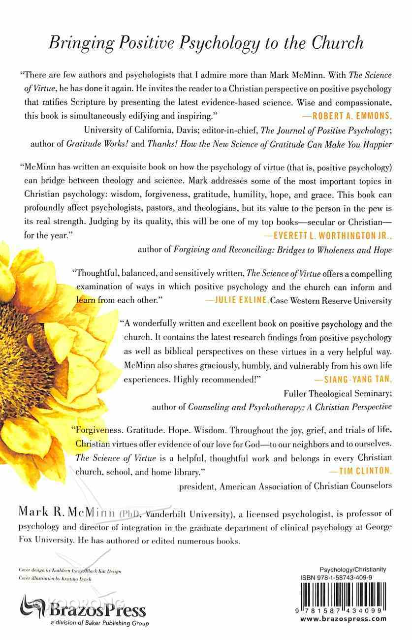 The Science of Virtue: Why Positive Psychology Matters to the Church Paperback