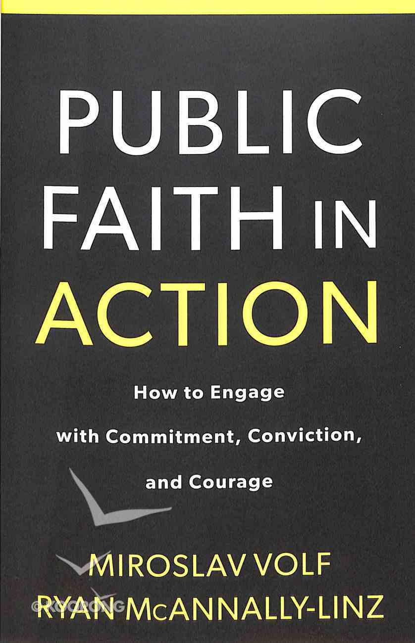 Public Faith in Action: How to Think Carefully, Engage Wisely, and Vote With Integrity Paperback