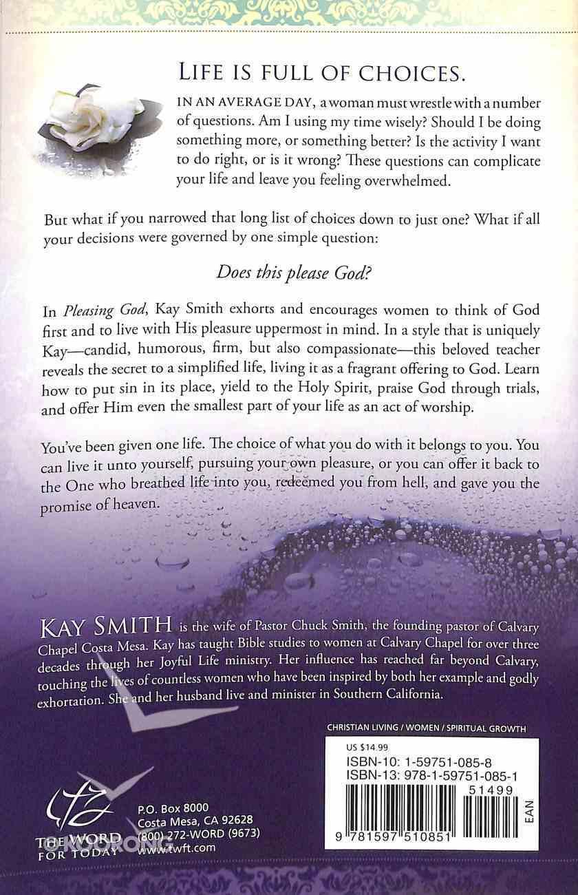 Pleasing God Paperback