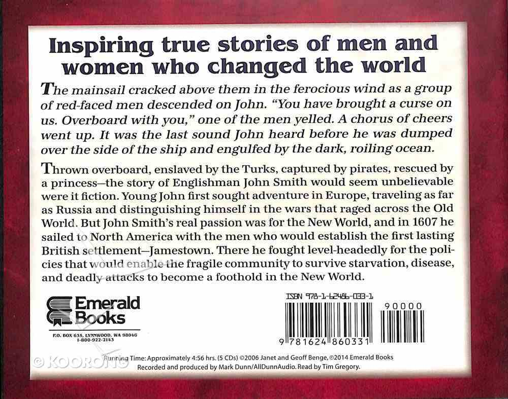 Captain John Smith - a Foothold in the New World (Unabridged, 5 CDS) (Heroes Of History Series) CD