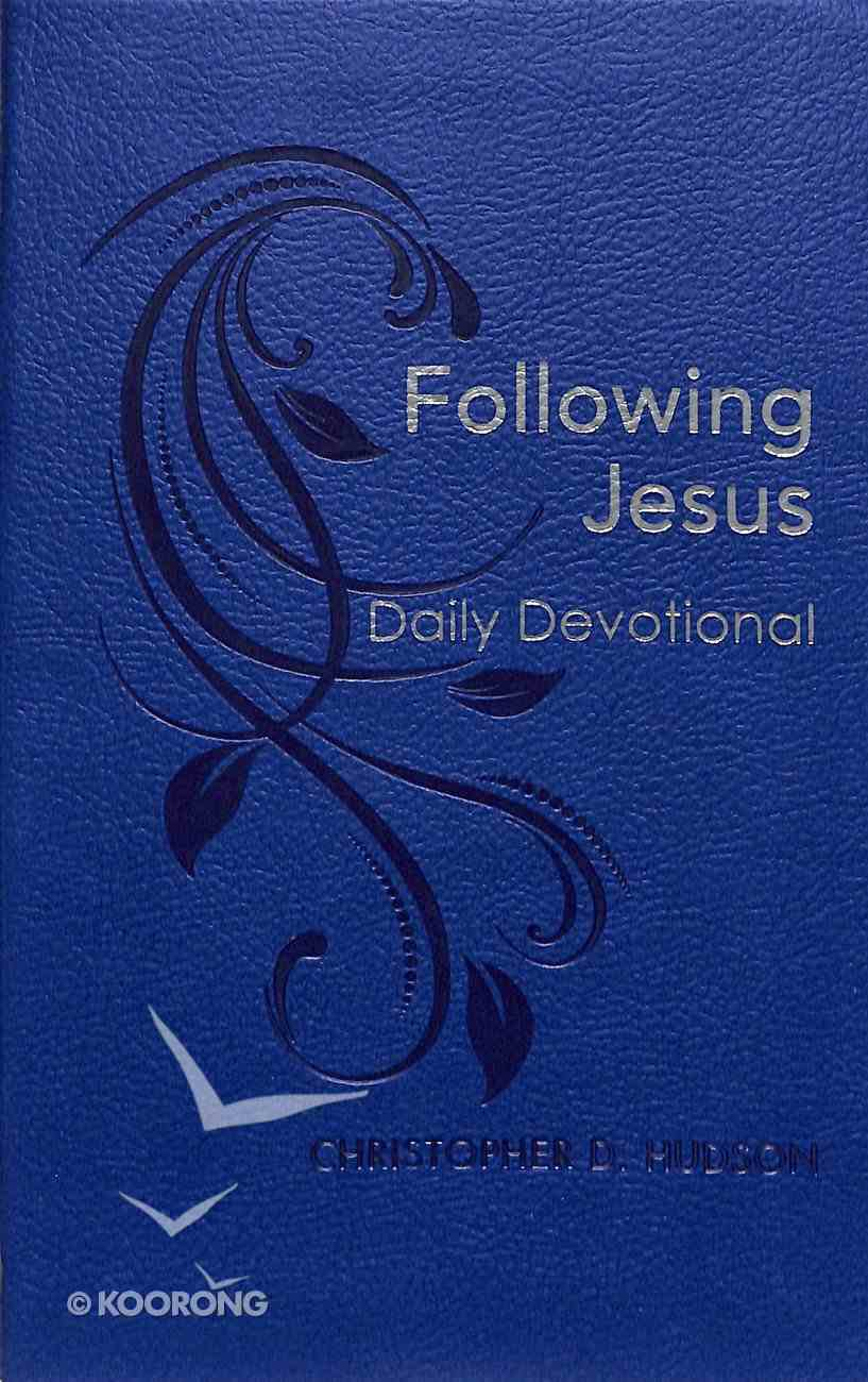 Following Jesus Daily Devotional Imitation Leather