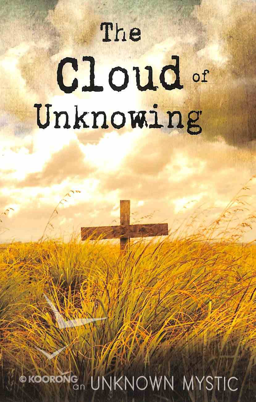 Cloud of Unknowing Paperback