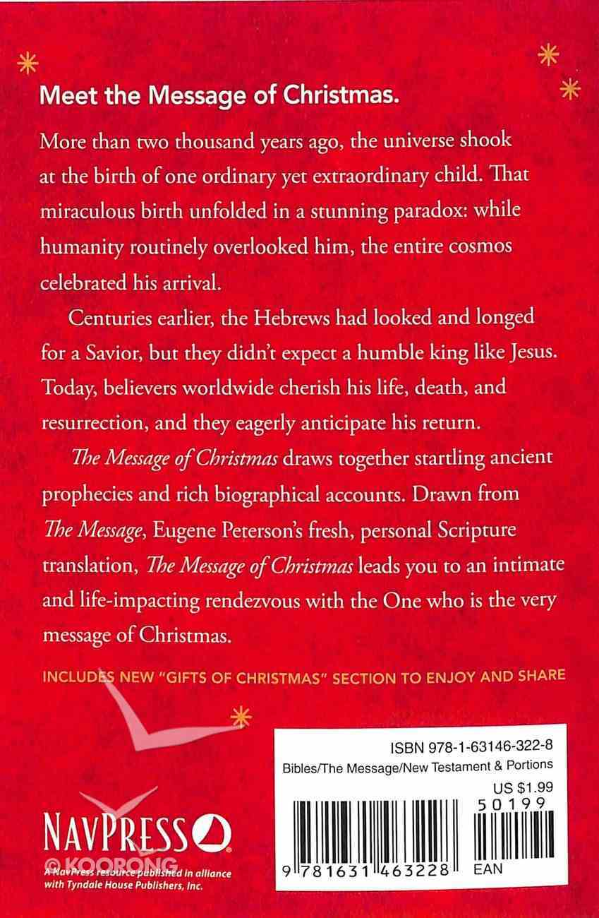 The Message of Christmas (Campaign Edition) Booklet
