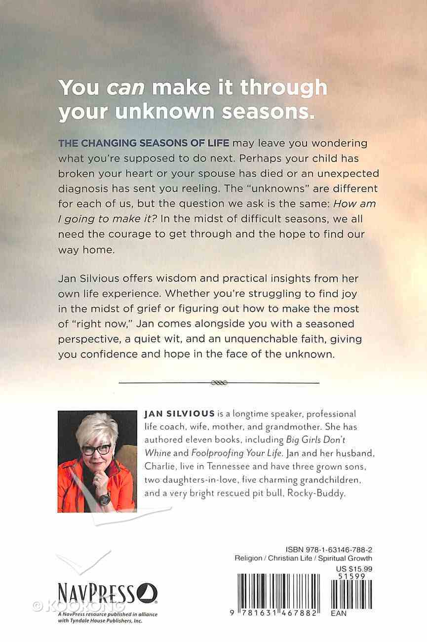 Courage For the Unknown Season Paperback