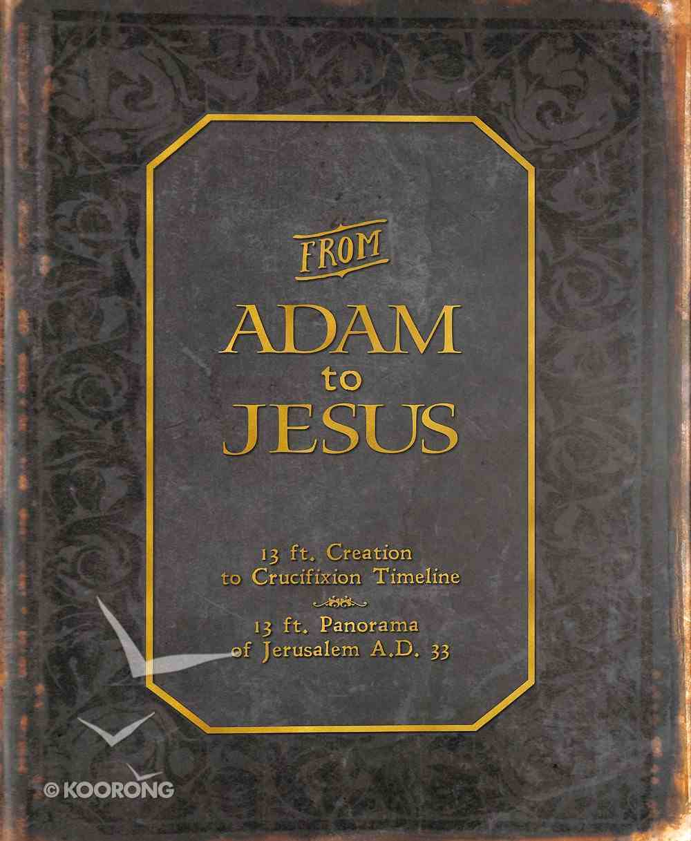 From Adam to Jesus Chart/card