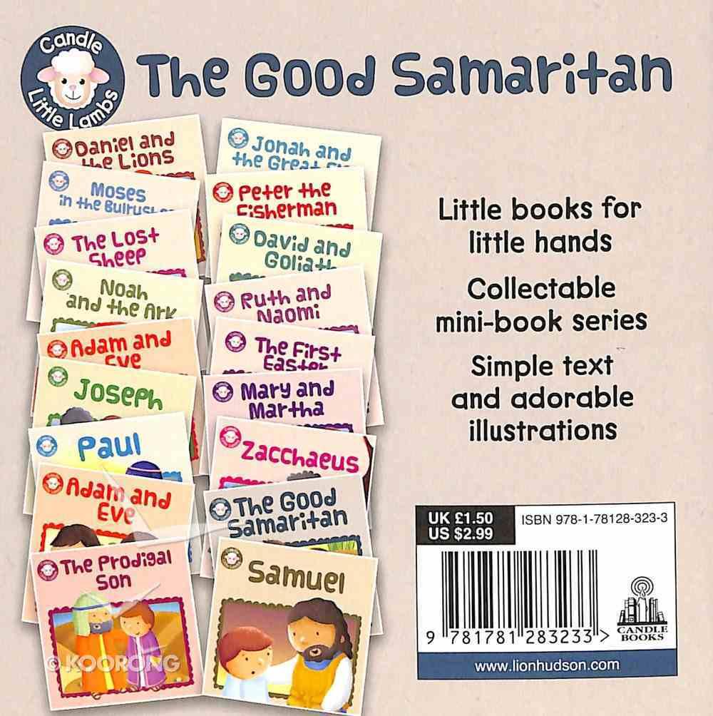 The Good Samaritan (Candle Little Lamb Series) Paperback