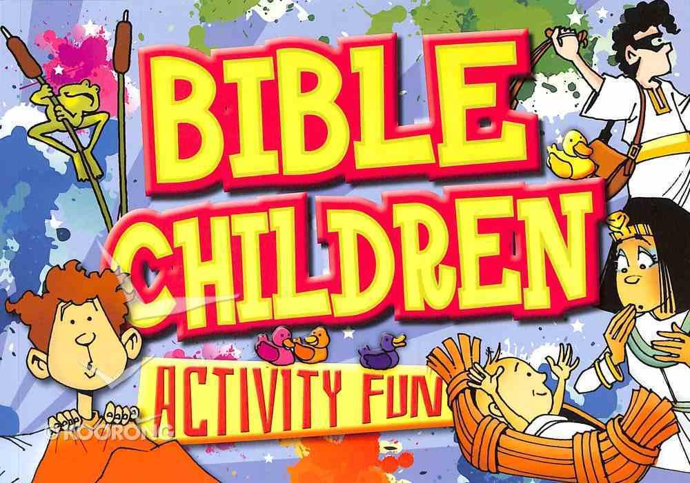 Bible Children Activity Fun Paperback
