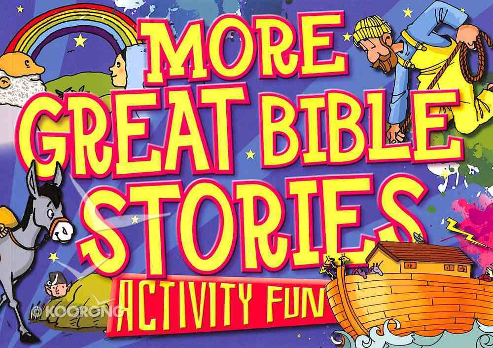 More Great Bible Stories Paperback