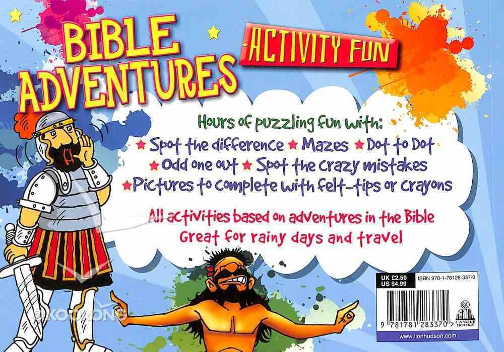 Bible Adventures Activity Fun Paperback