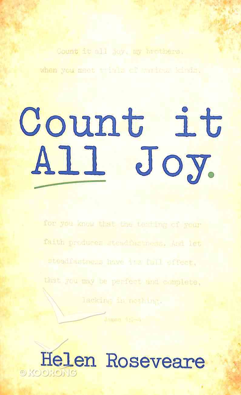 Count It All Joy Paperback