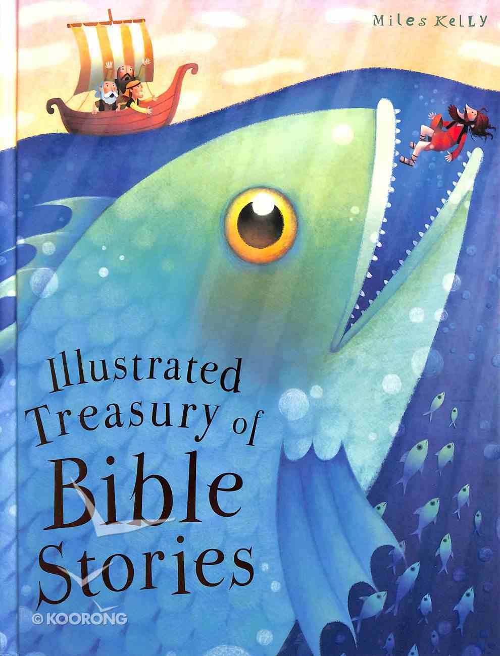 Illustrated Treasury of Bible Stories Hardback