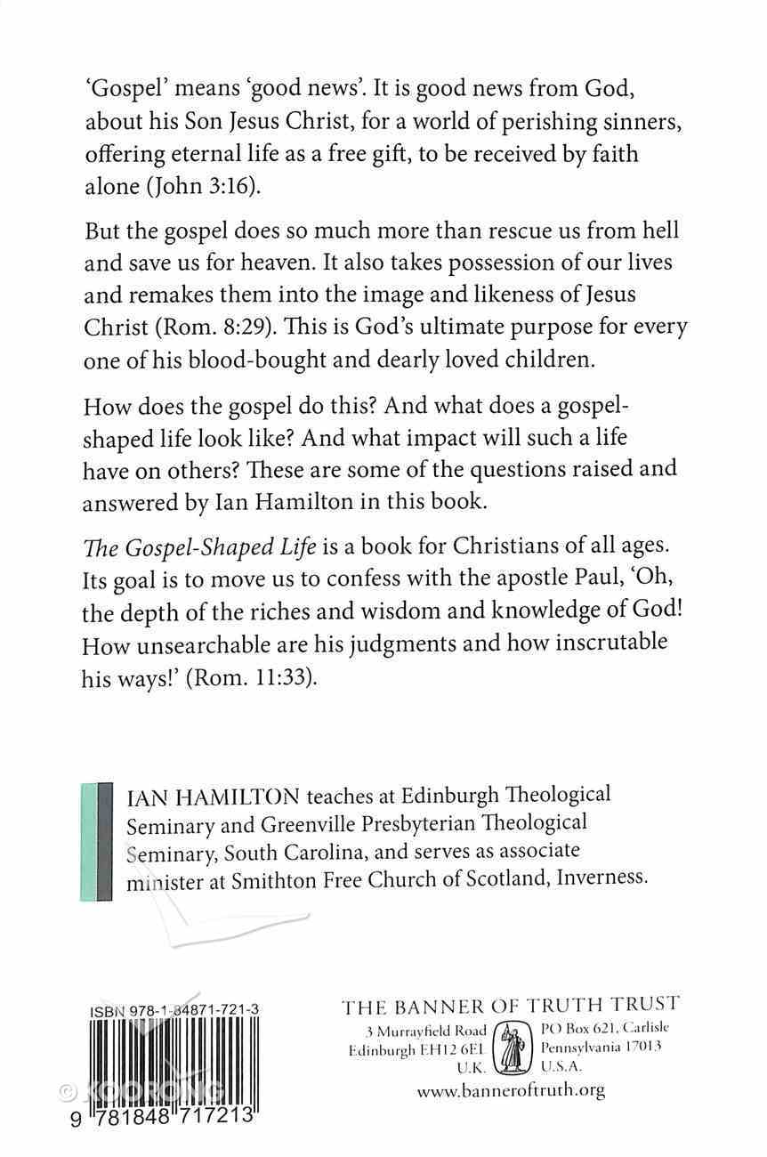 The Gospel-Shaped Life Paperback