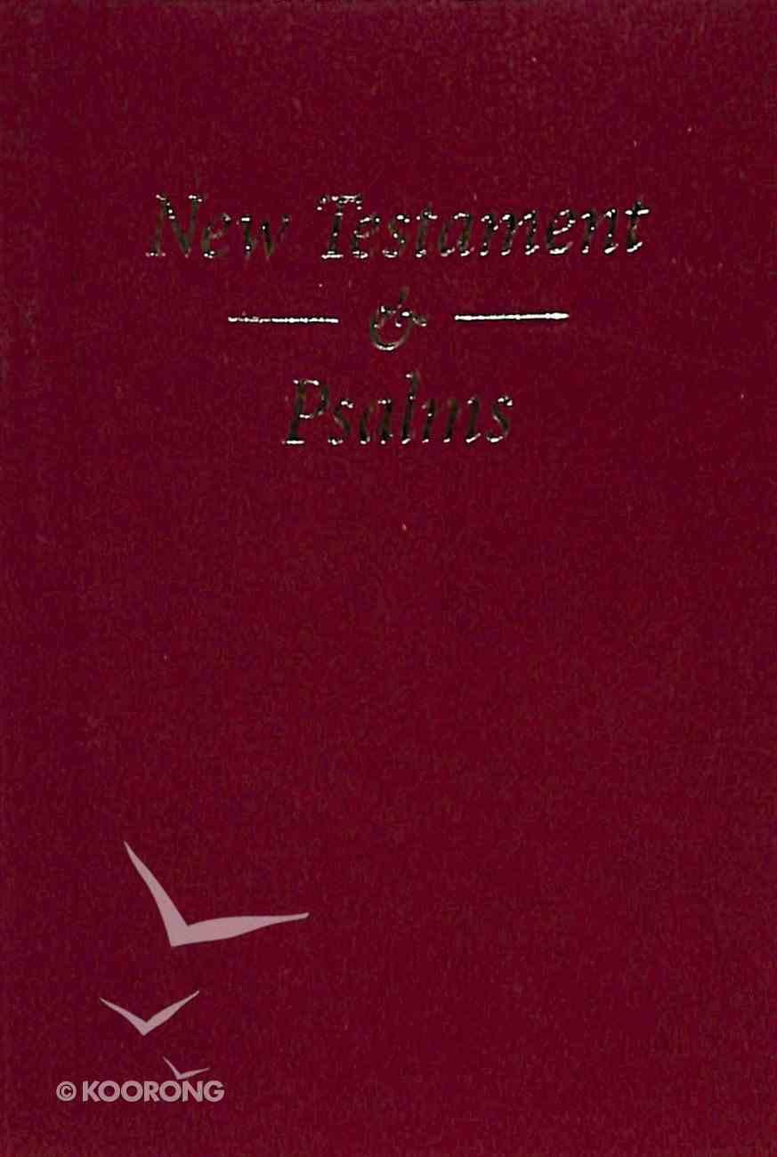 KJV Pocket New Testament and Psalms Red Vinyl Vinyl
