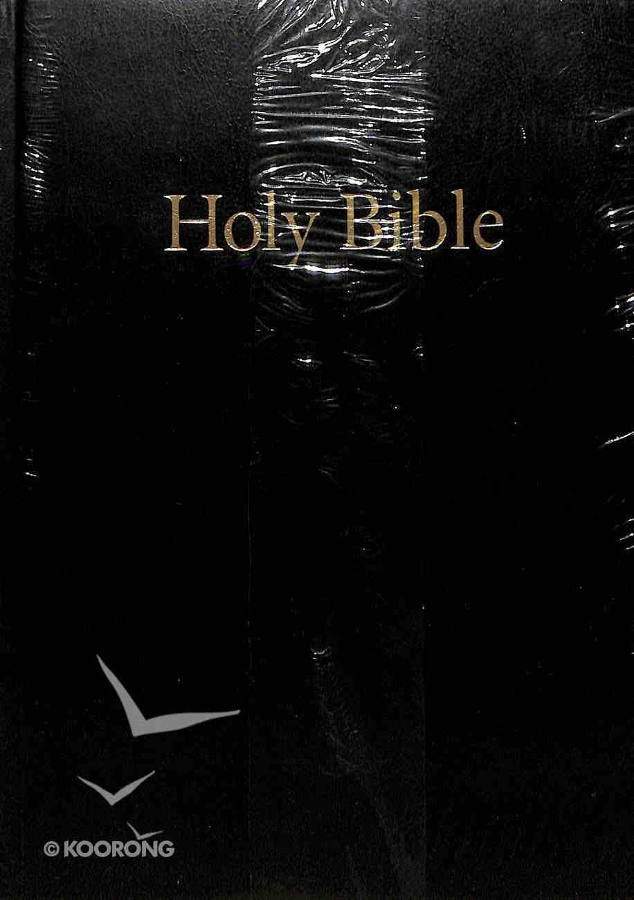 KJV Westminster Holy Bible Reference Black (Black Letter Edition) Hardback