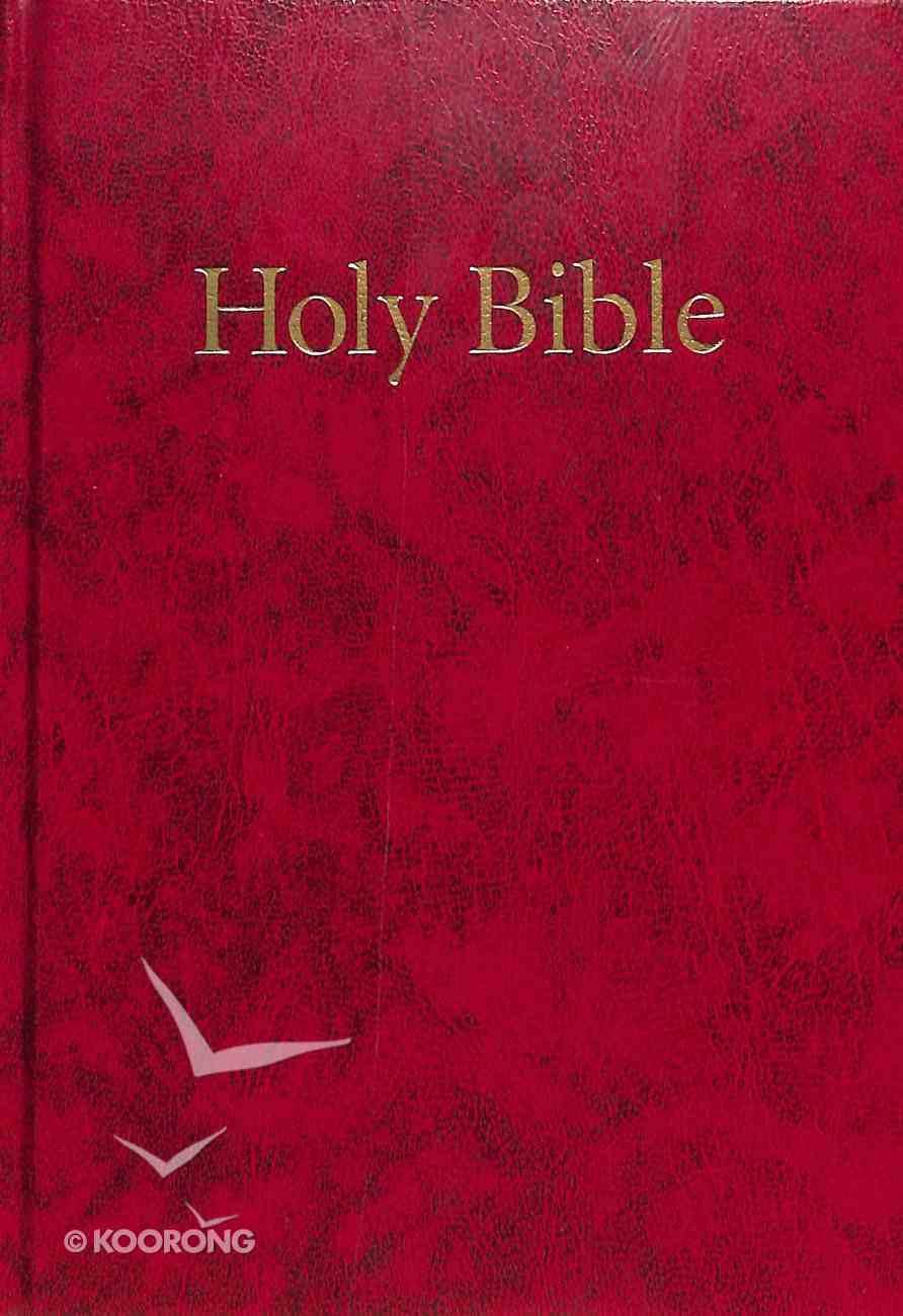 KJV Windsor Holy Bible Red Compact (Black Letter Edition) Hardback