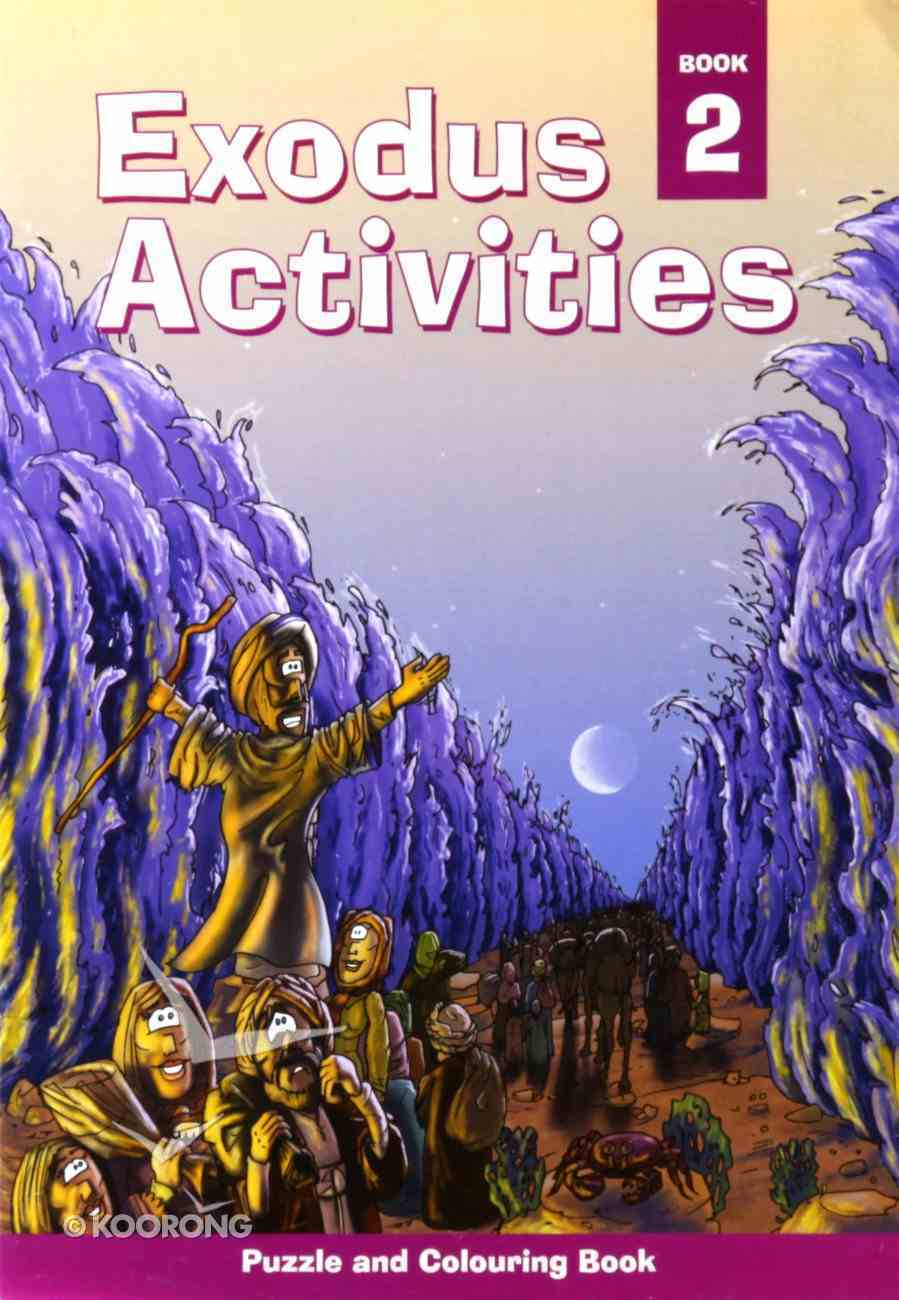Puzzle and Colouring #02: Exodus Activities Paperback